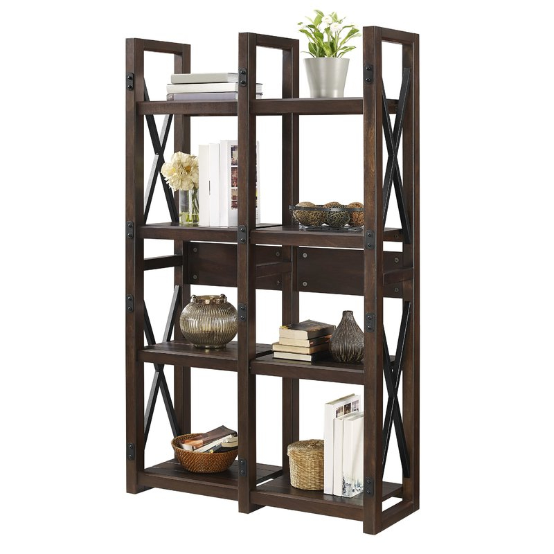 Woodcrest Etagere Bookcases Inside 2019 Gladstone Etagere Bookcase (View 16 of 20)