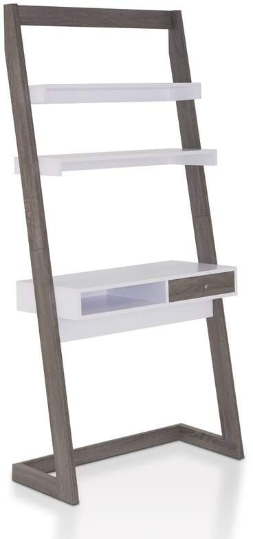 Wrought Studio Syrna Wood Leaning/ladder Desk For 2019 Blevens A Frame Ladder Bookcases (View 14 of 20)