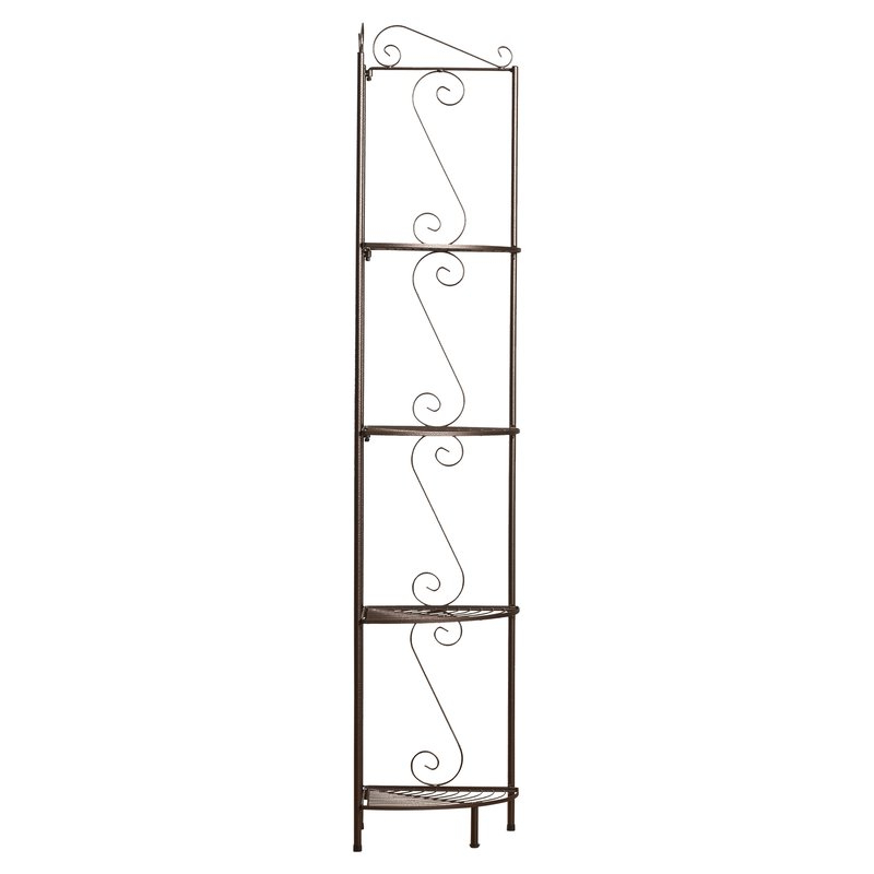 Yeatman Four Tier Corner Unit Bookcase Within 2019 Yeatman Four Tier Corner Unit Bookcases (View 2 of 20)