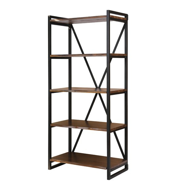 Yorba Etagere Bookcase17 Stories Discount (Gallery 11 of 20)