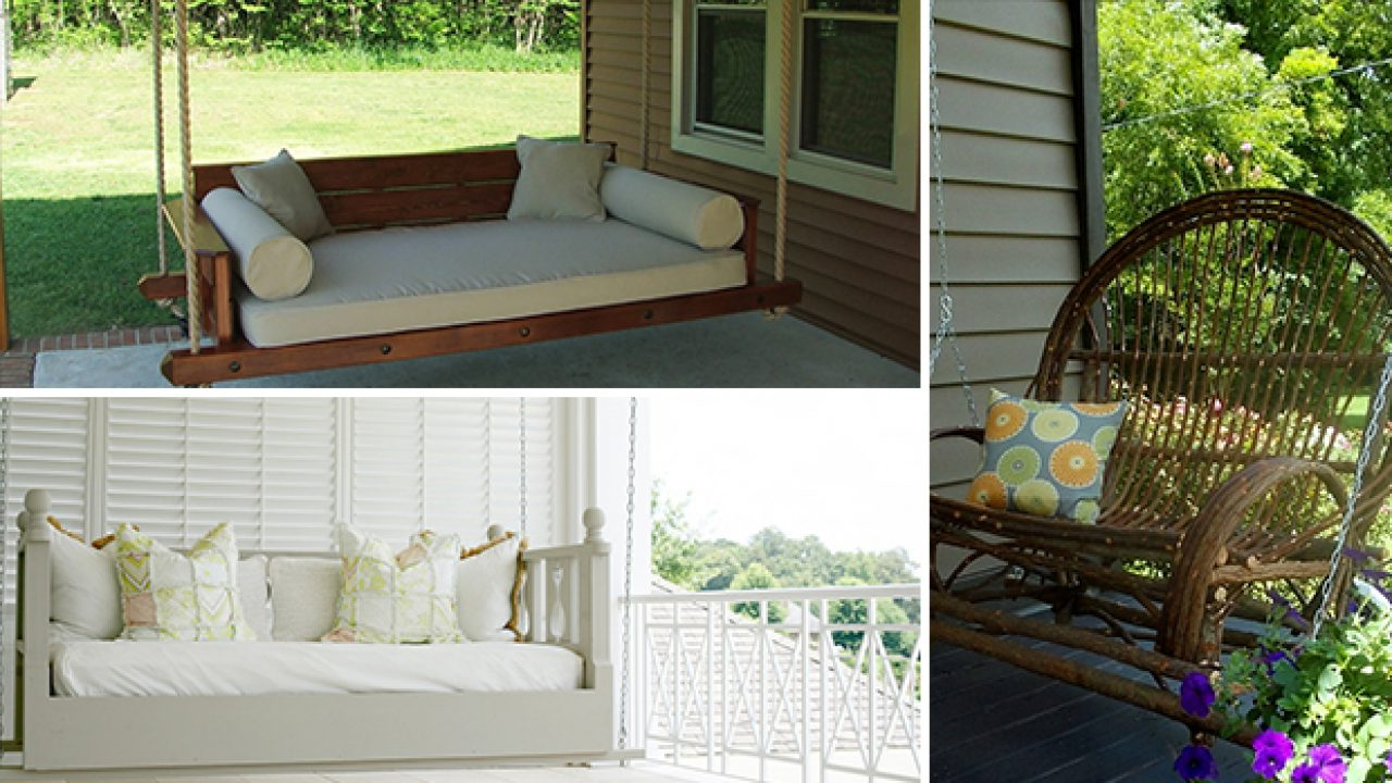17 Outstanding Handmade Porch Swing Designs In Preferred Rosean Porch Swings (View 22 of 30)
