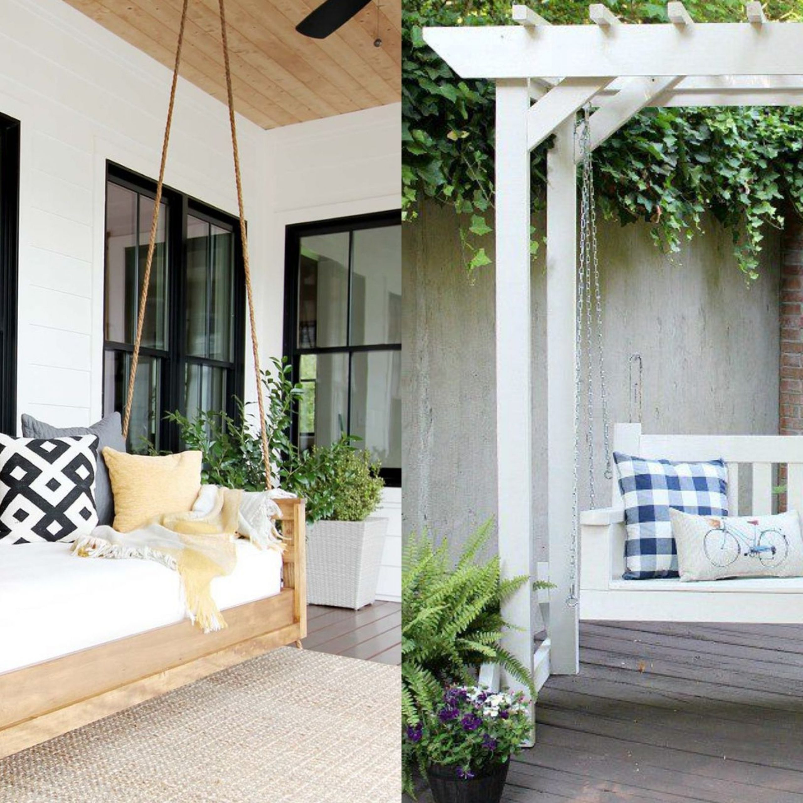 20+ Porch Swing Plans – Diy Porch Swing In Favorite American Flag Porch Swings (View 1 of 30)