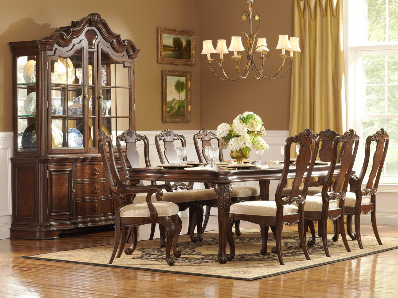2017 How To Choose Elegant Dining Room Furniture Sets For Medium Elegant Dining Tables (View 6 of 30)