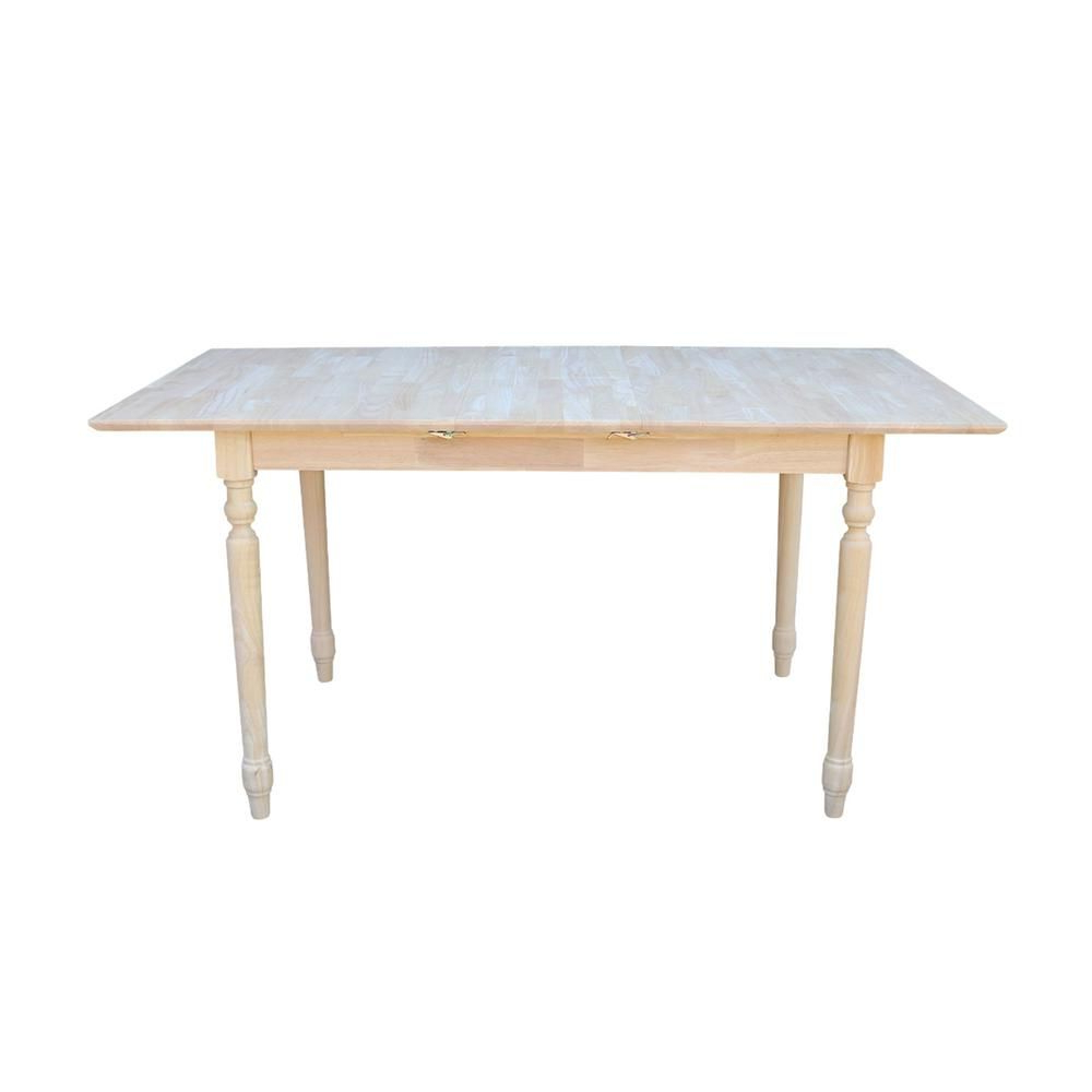2017 International Concepts Unfinished Dining Table In 2019 In Unfinished Drop Leaf Casual Dining Tables (View 8 of 30)