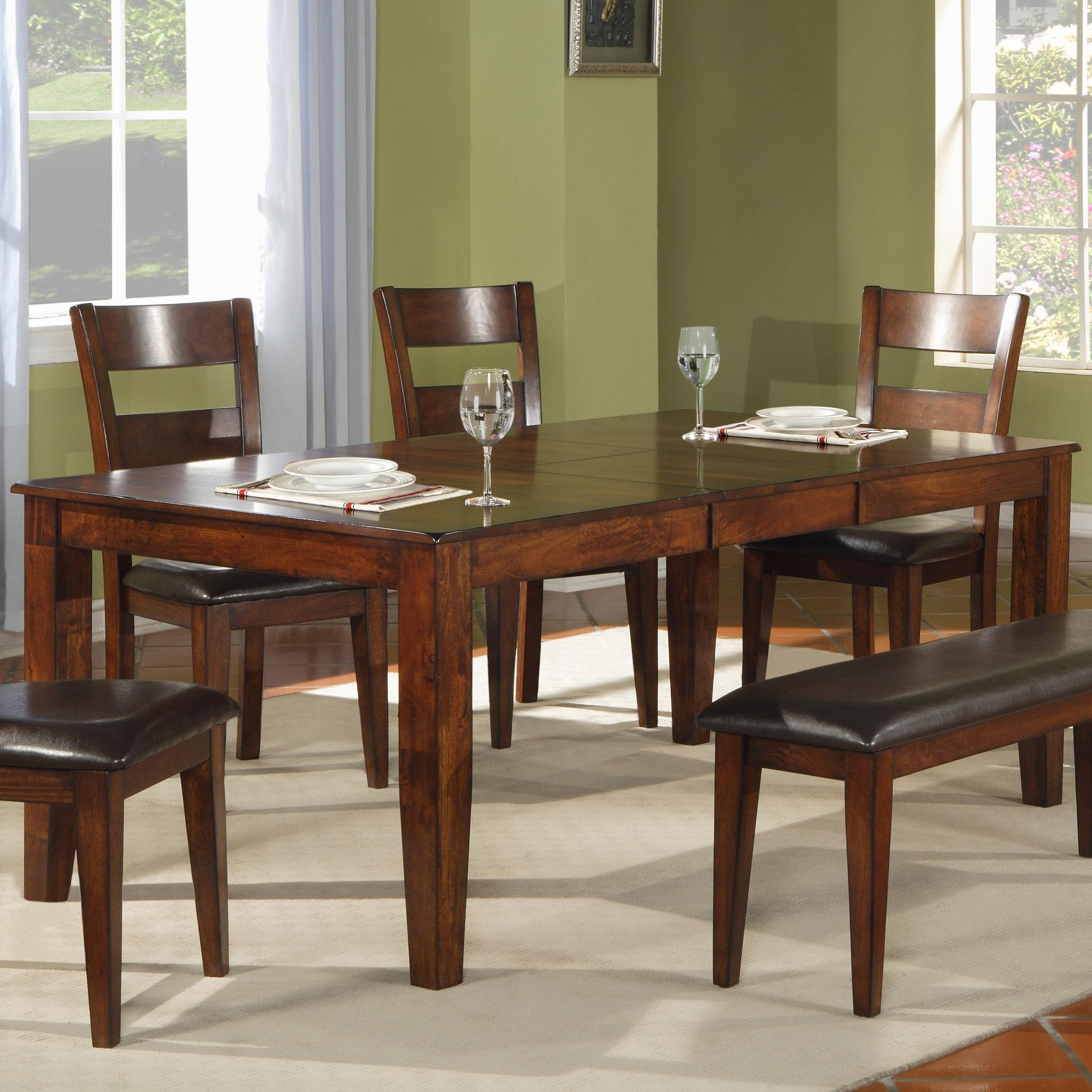 2017 Iron Dining Tables With Mango Wood In Holland House 1279 Modern Solid Mango Wood Dining Table (View 22 of 30)