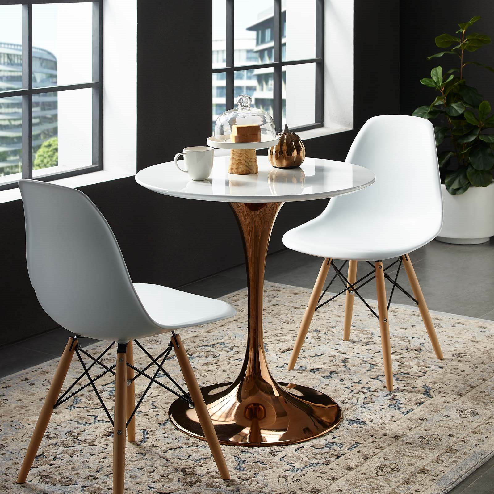 """2017 Lippa 28"""" Round Wood Top Dining Table (View 23 of 30)"""