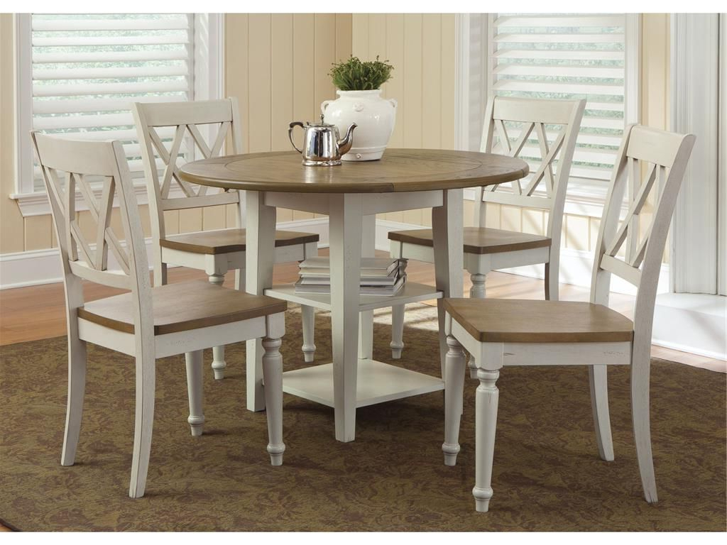 2017 Transitional 3 Piece Drop Leaf Casual Dining Tables Set Within Liberty Furniture Dining Room Drop Leaf Leg Table 841 T (View 2 of 30)