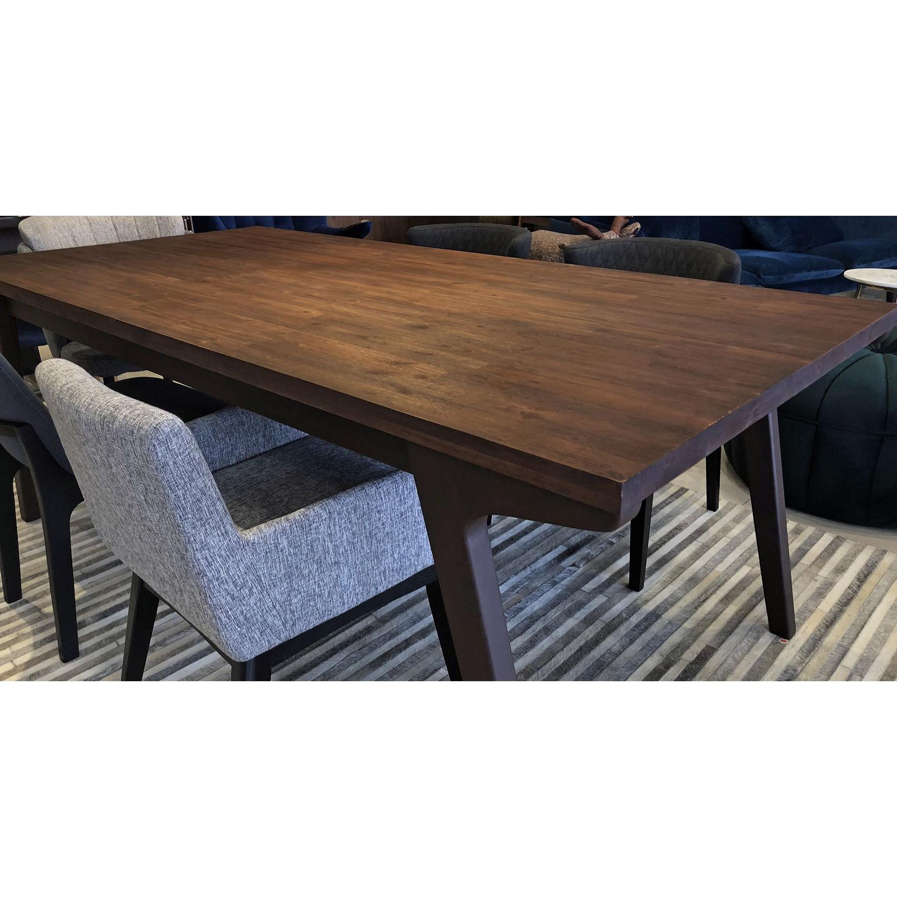 2017 Unique Acacia Wood Dining Tables With Gaena (210cm Acacia Wood) Dining Table (View 27 of 30)