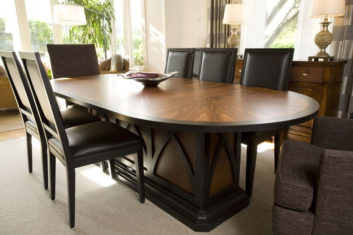 2018 Dining Room: Comfortable Eclipse Wooden Dining Table Designs Regarding Eclipse Dining Tables (View 11 of 30)