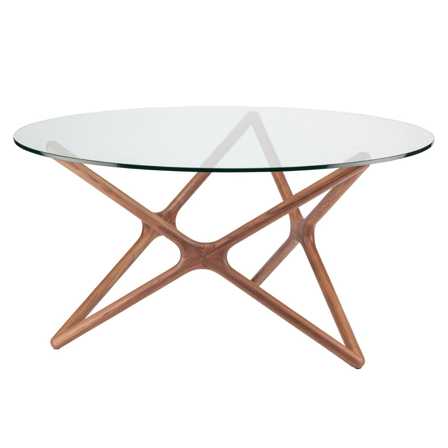 2018 Dining Tables With Stained Ash Walnut For Star Dining Table – Ash Walnut (View 25 of 30)
