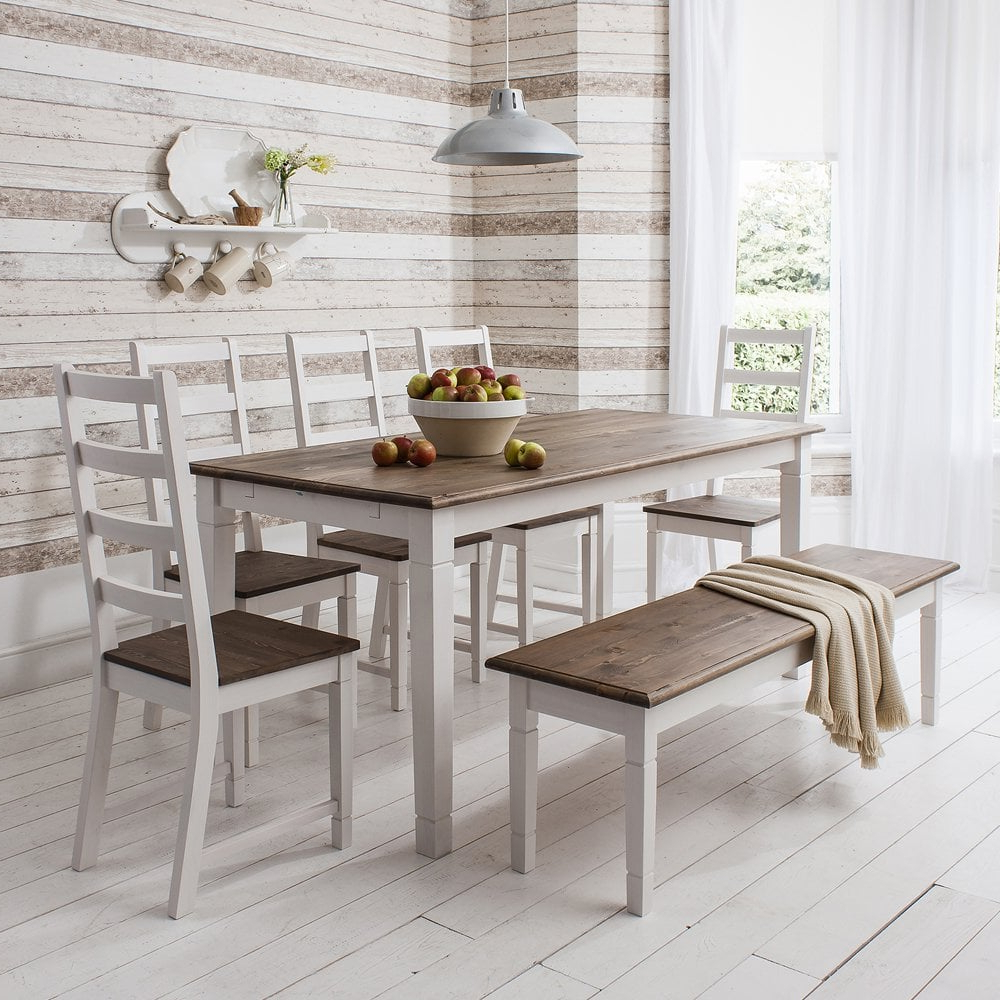 2018 Rustic Pine Small Dining Tables With Regard To Canterbury Dining Table (View 14 of 30)