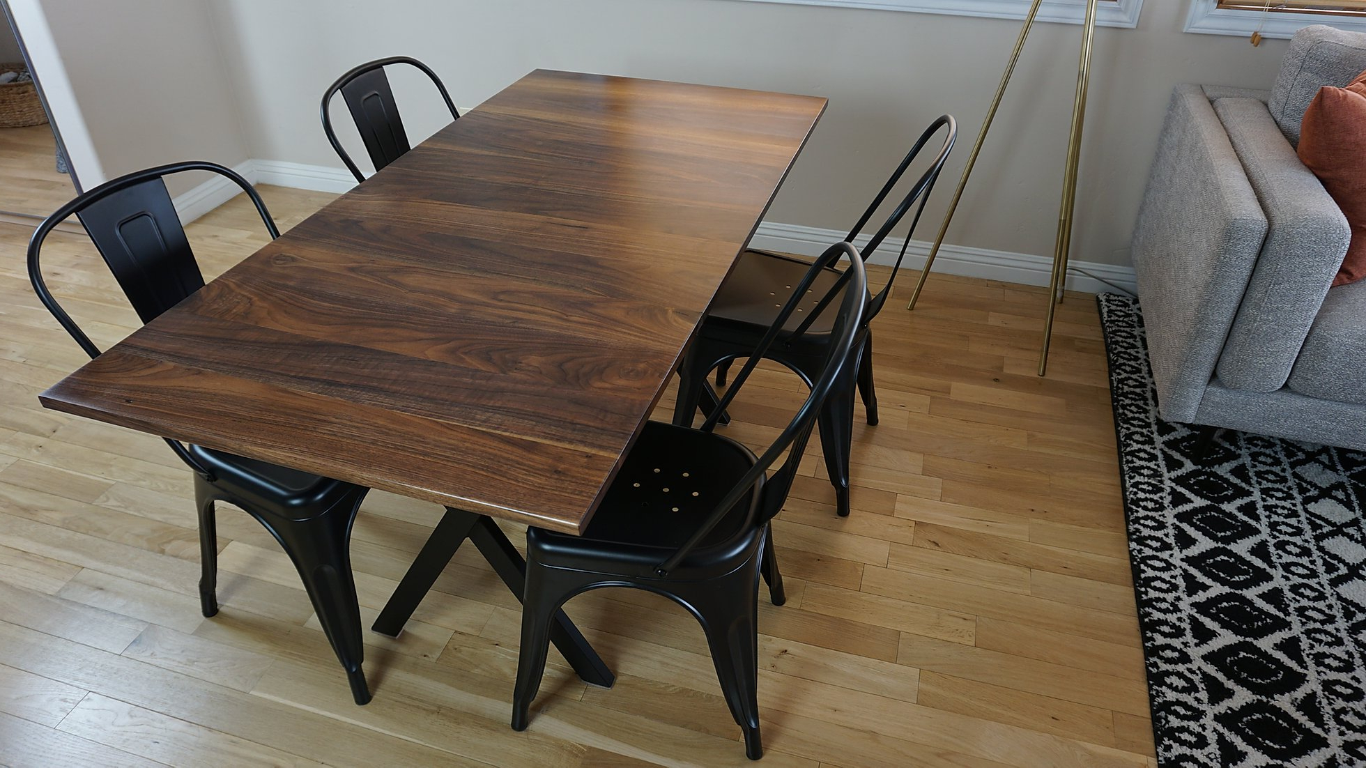 2018 The Tremont Dining Table Intended For Dining Tables With Black U Legs (View 2 of 30)