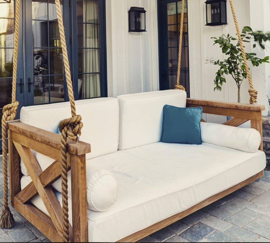 2019 Day Bed Porch Swings Inside Front Porch Swing Plans Cushions Clearance Kits Home Depot (View 5 of 30)