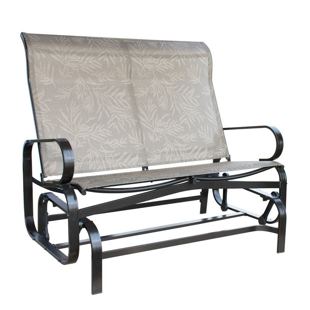 2019 Havenside Home Antigonish Glider Bench Outdoor Loveseat Swing With Rocker In 2 Person Loveseat Chair Patio Porch Swings With Rocker (View 25 of 30)