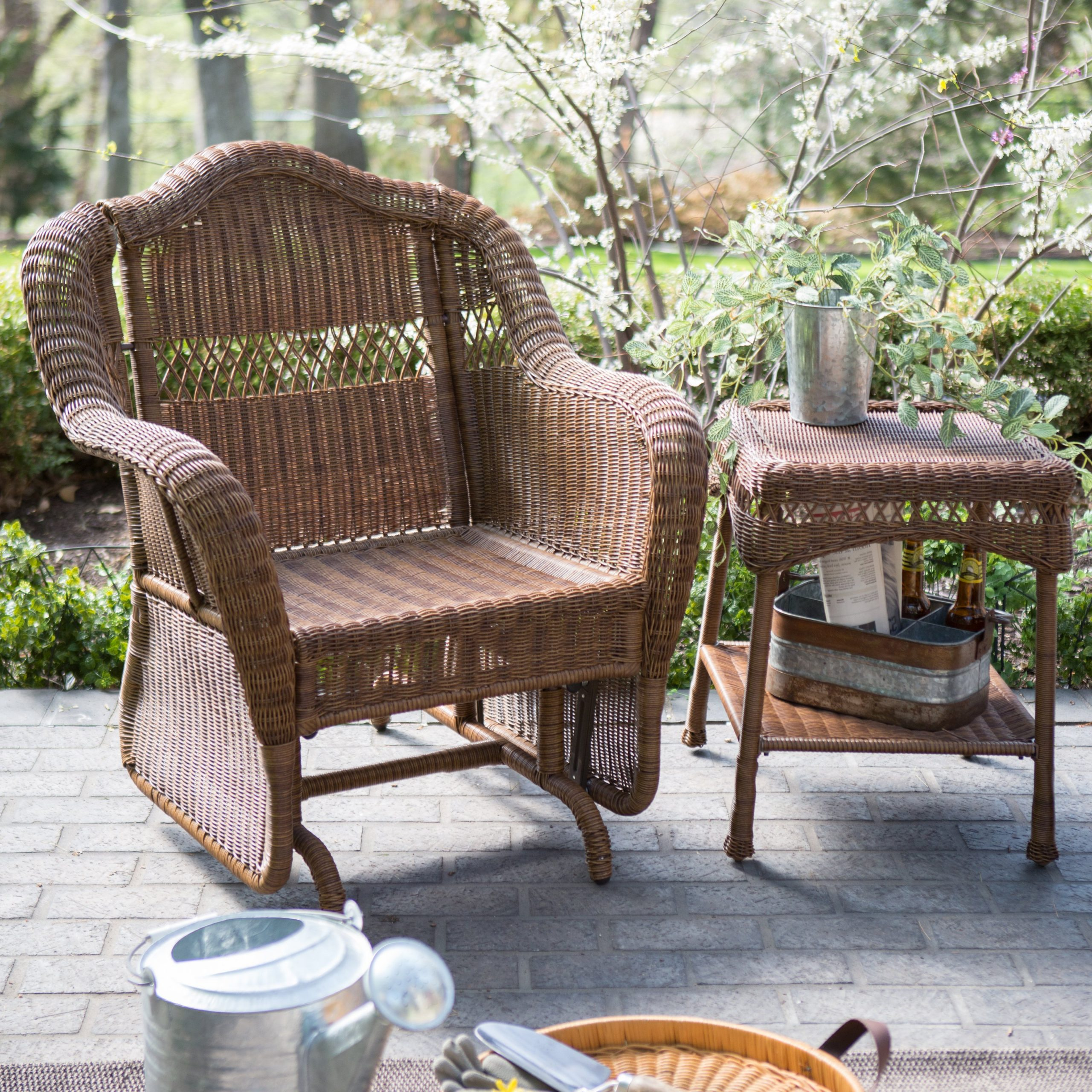 2019 Outdoor Patio Swing Glider Bench Chair S Regarding Chairs Swing Depot Canopy Rocker Replacement Couch Clearance (View 25 of 30)