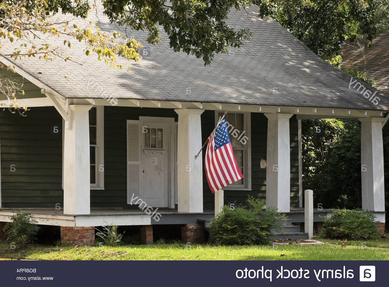 2020 American Flag Porch Swings Pertaining To American Flag Porch Stock Photos & American Flag Porch Stock (View 3 of 30)