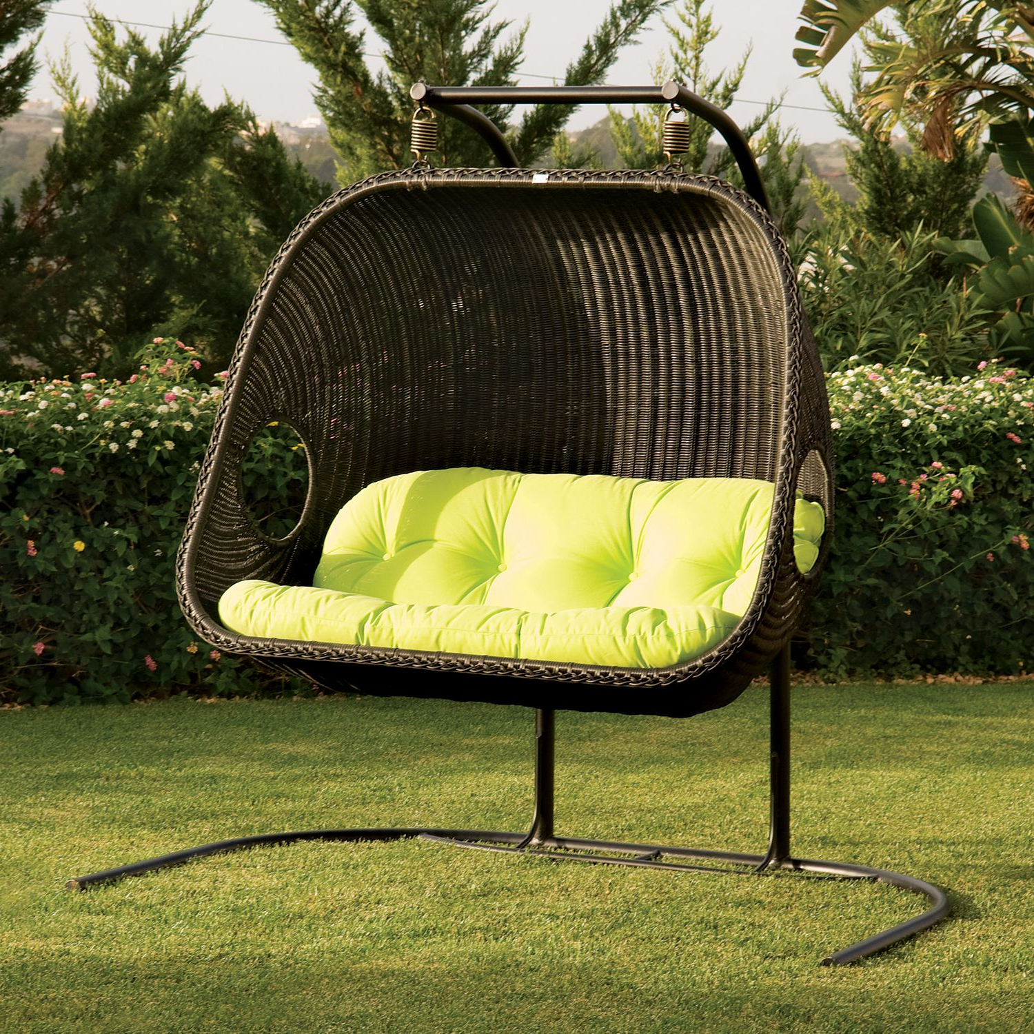 2020 Hammock Patio Backyard Stand – Recognizealeader With Wicker Glider Outdoor Porch Swings With Stand (View 3 of 30)