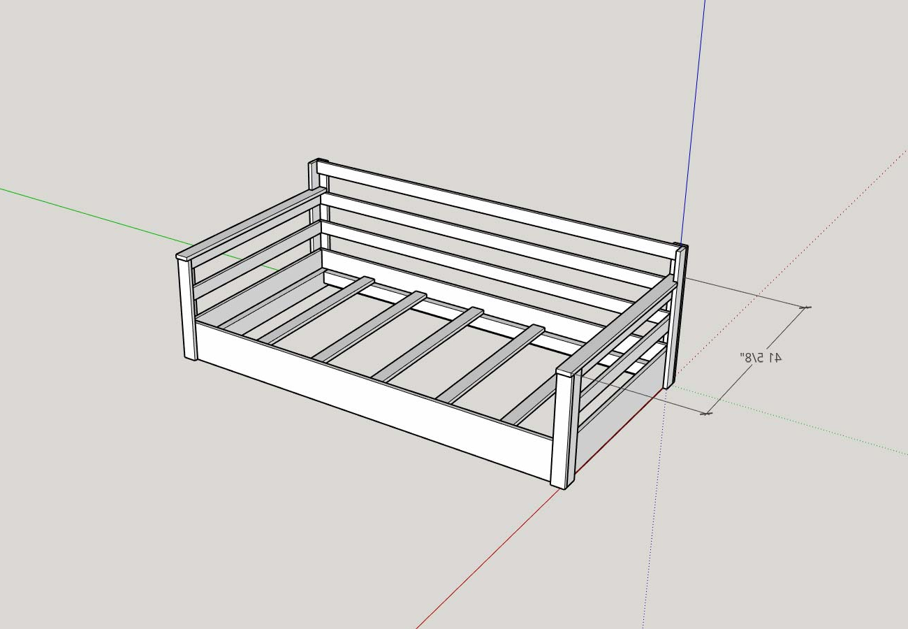 2020 How To Build A Porch Swing Bed – Plank And Pillow In Daybed Porch Swings With Stand (View 21 of 30)