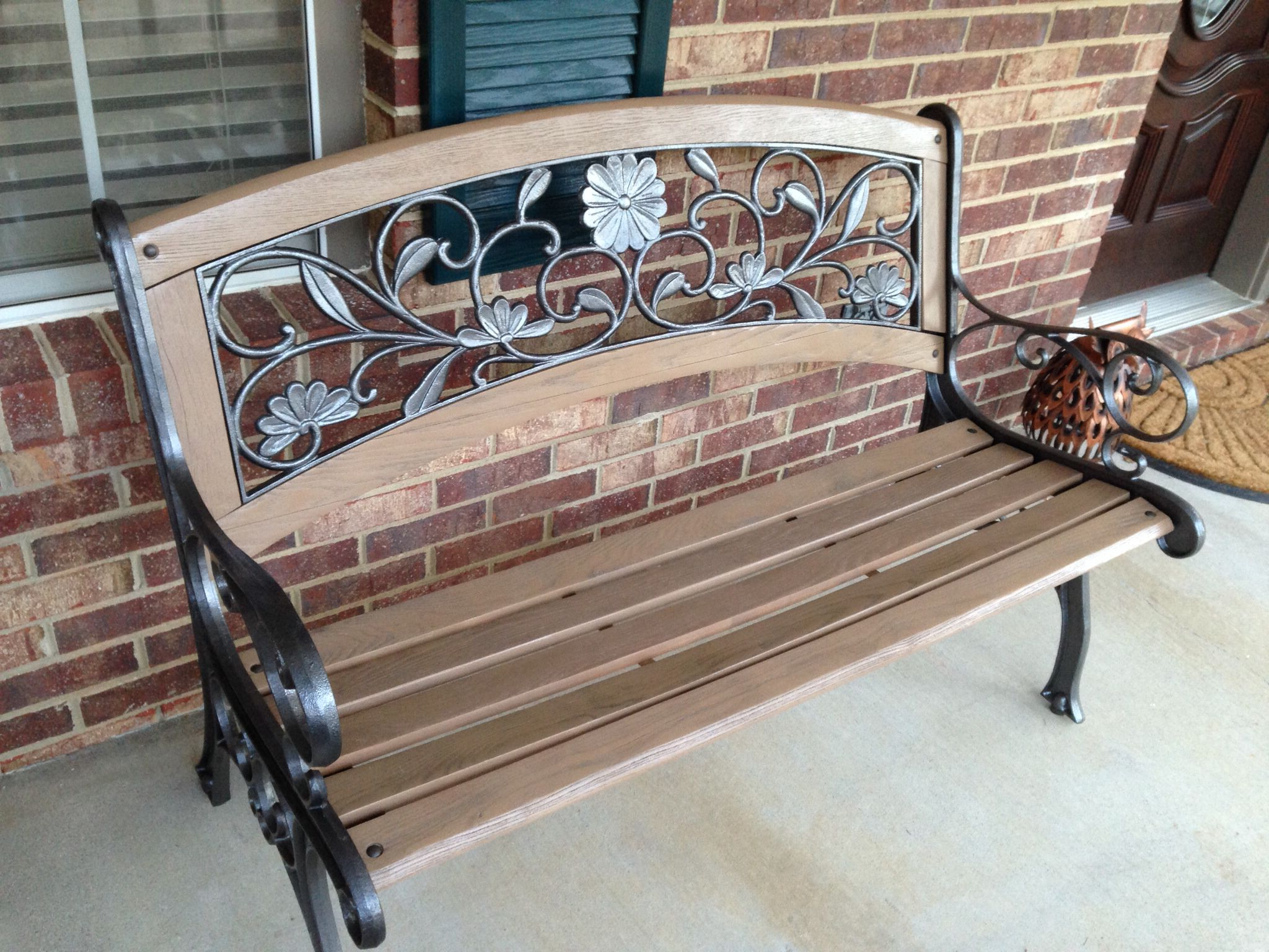 2020 Refinished Bench. Wood Is Rustoleum Satin Nutmeg (View 20 of 30)