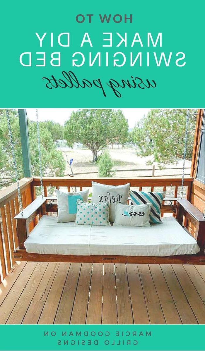 21 Best Diy Porch Swing Bed Ideas And Designs For 2020 Pertaining To Well Known Hanging Daybed Rope Porch Swings (View 5 of 30)