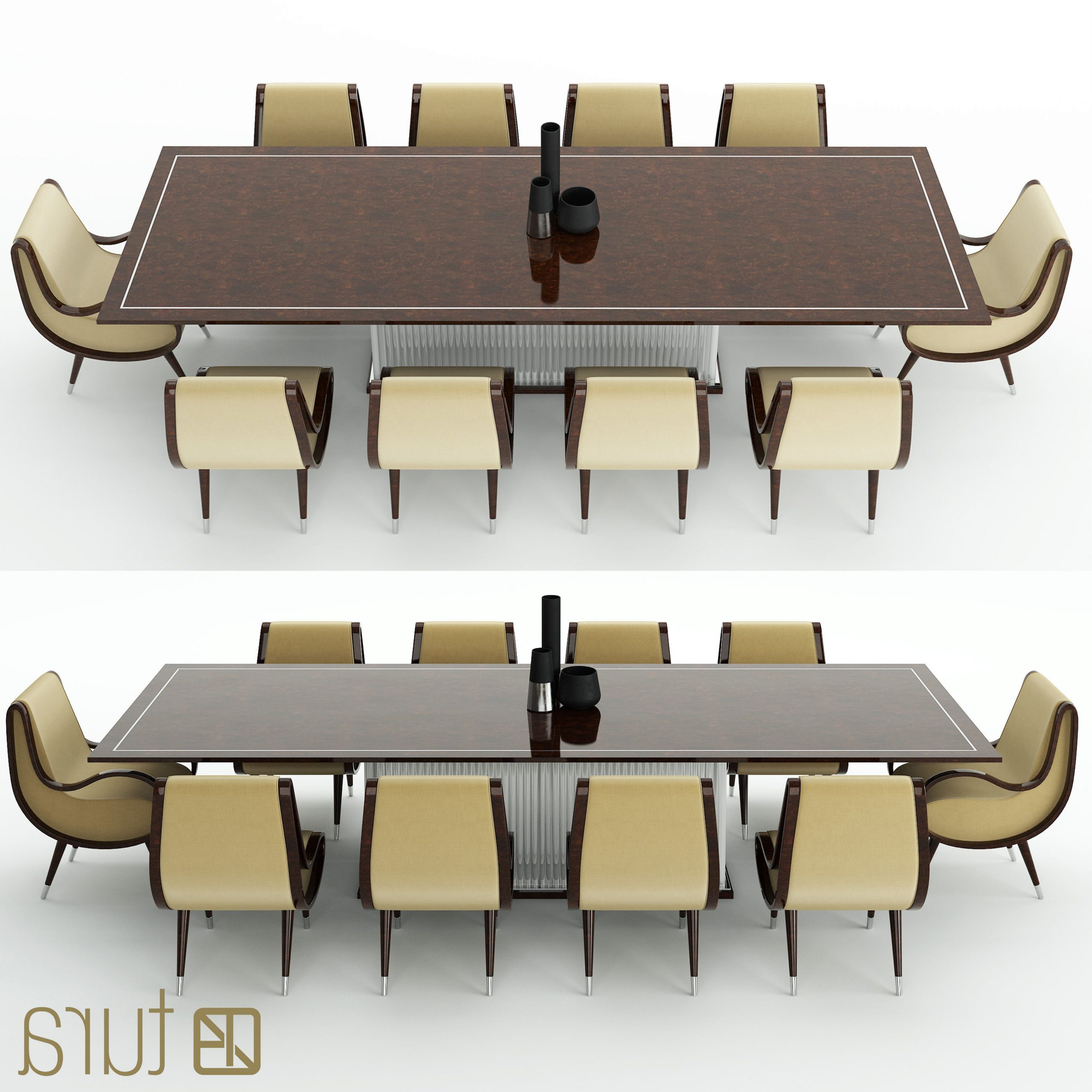3d Model Pertaining To Eclipse Dining Tables (View 20 of 30)