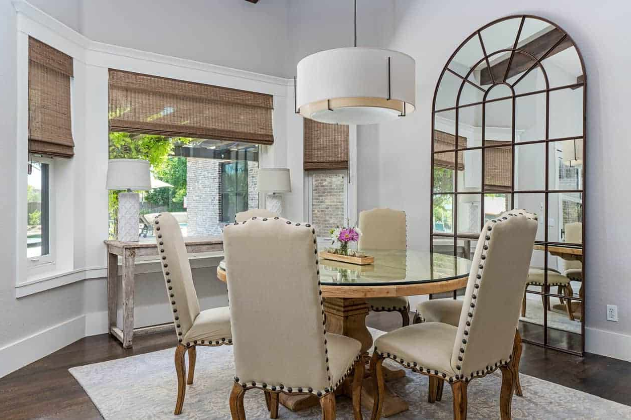 50 Dining Rooms With Round Dining Tables (photos) Intended For Trendy Elegance Large Round Dining Tables (View 13 of 30)