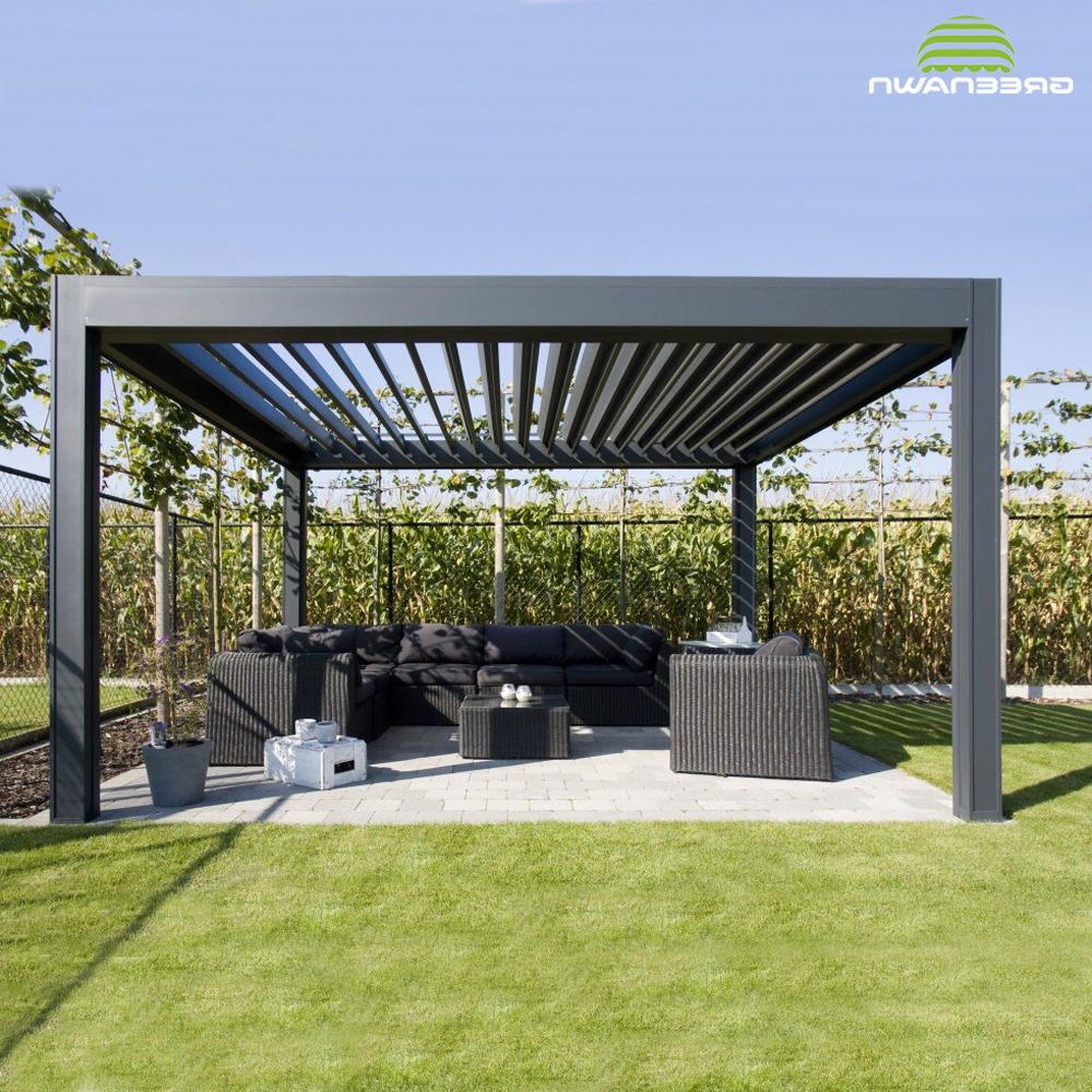A4 Ft Cedar Pergola Swings For Popular High Quality Aluminum Profile For Pergola Roofing Materials (View 5 of 30)