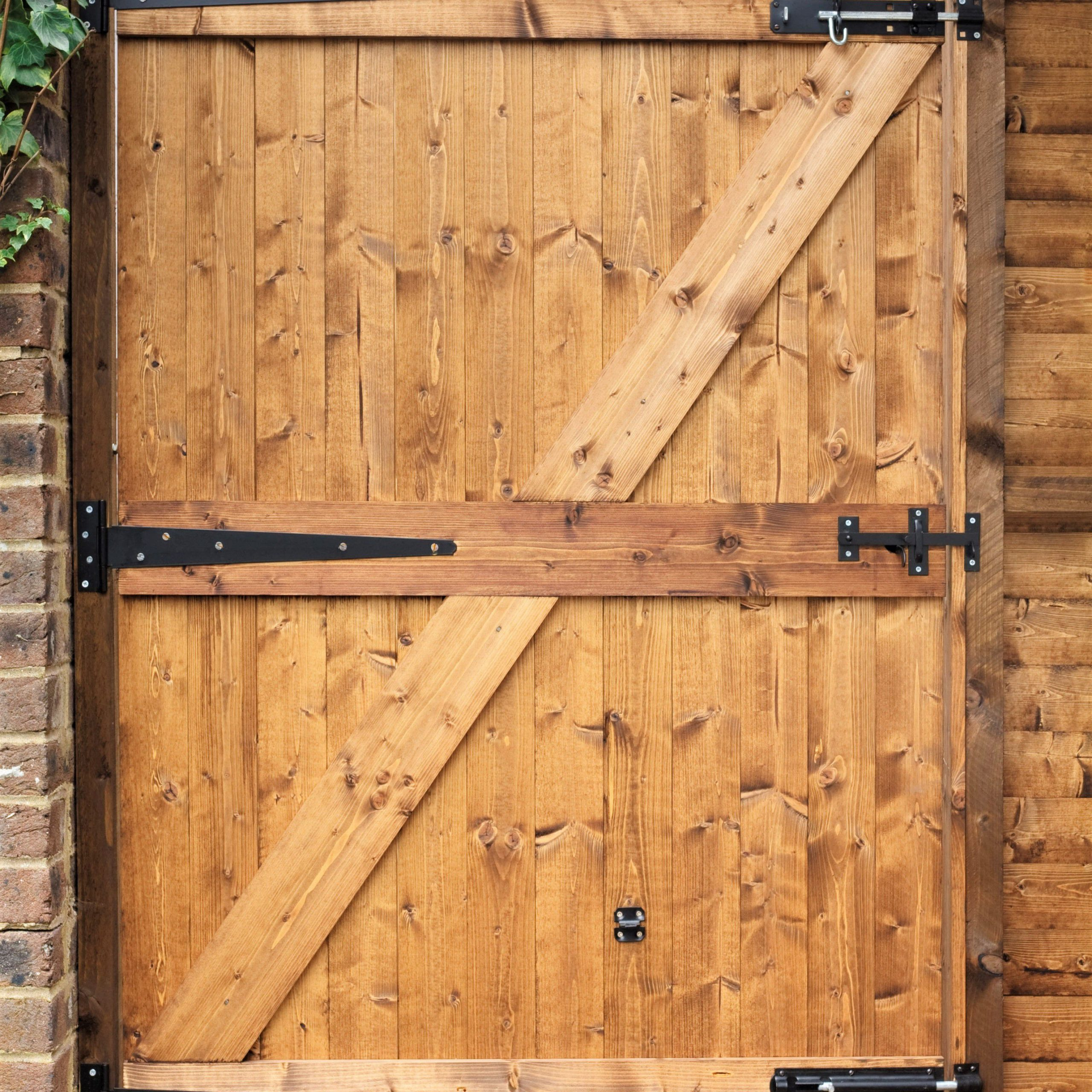 A4 Ft Cedar Pergola Swings In 2019 How To Build A Wooden Gate For Your Yard (View 6 of 30)