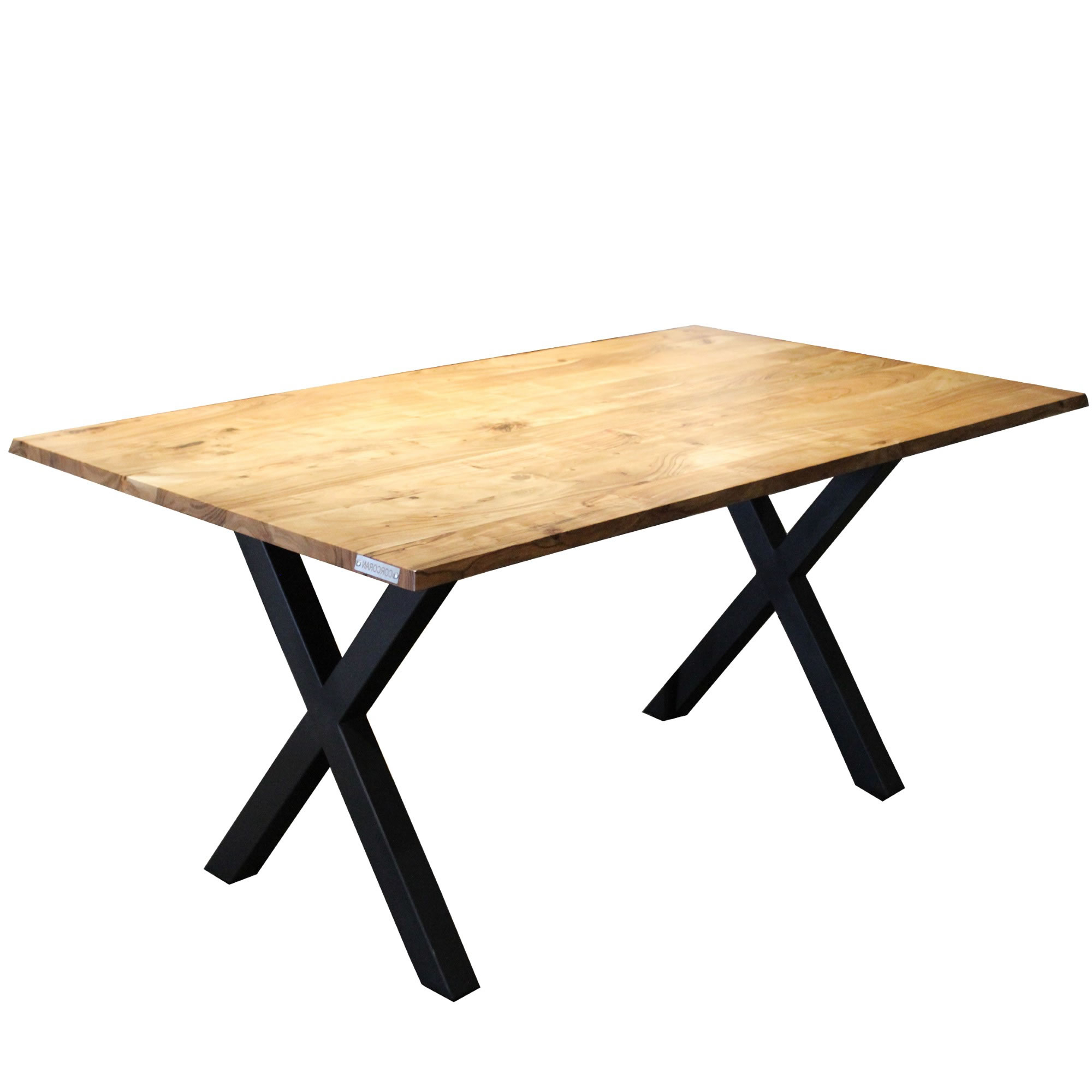 Acacia Dining Tables With Black Rocket Legs With 2018 Corcoran Importation Zen Live Edge Acacia Bench (84 Inch (View 3 of 30)