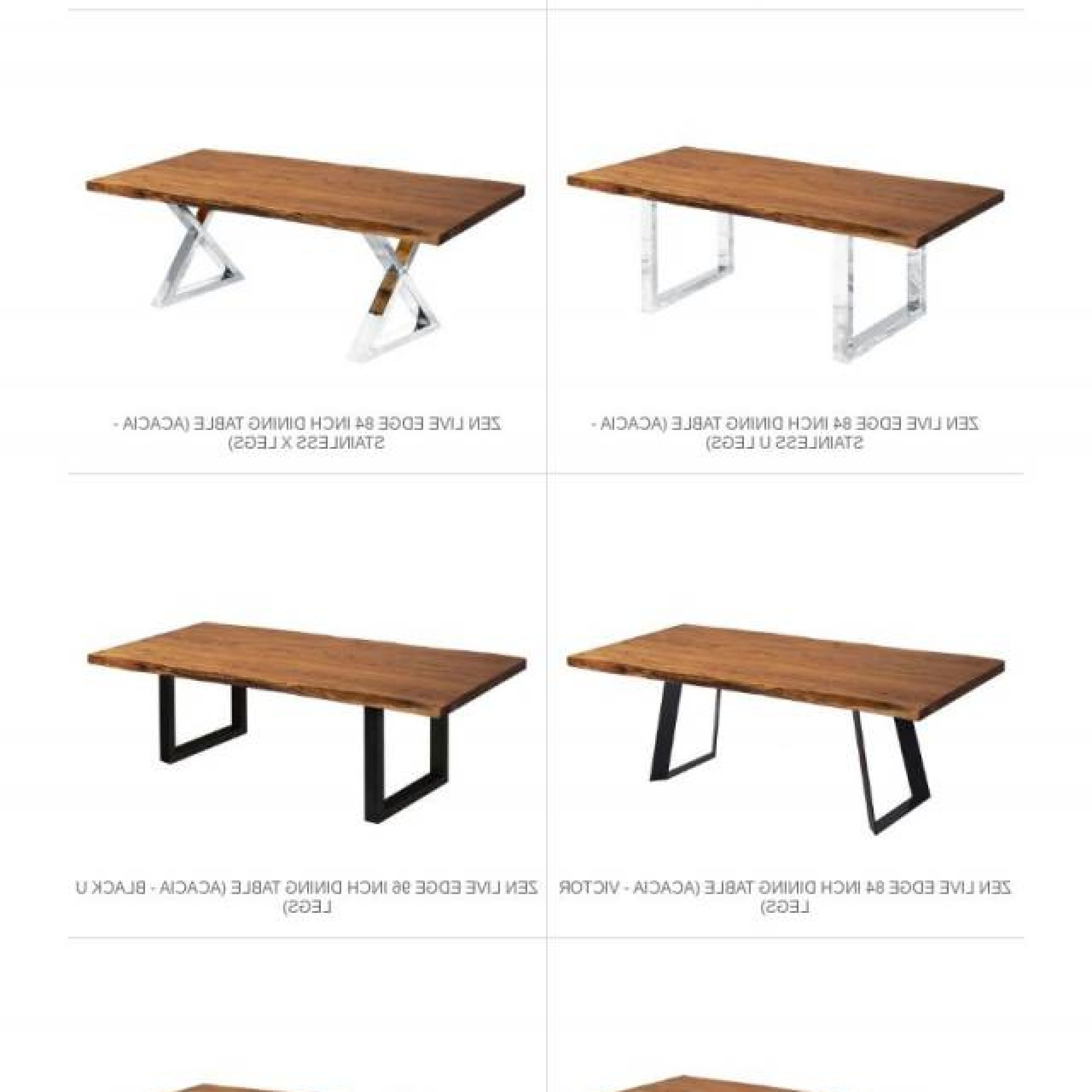 Acacia Dining Tables With Black Rocket Legs Within 2017 ▷ Zen Dining Tables Are Back In Stock! • Modern Furniture (View 6 of 30)