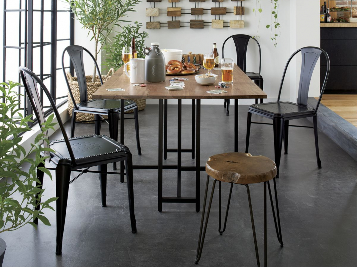 Acacia Top Dining Tables With Metal Legs Pertaining To Well Known The Best Dining Tables, Business Insider – Business Insider (View 20 of 30)