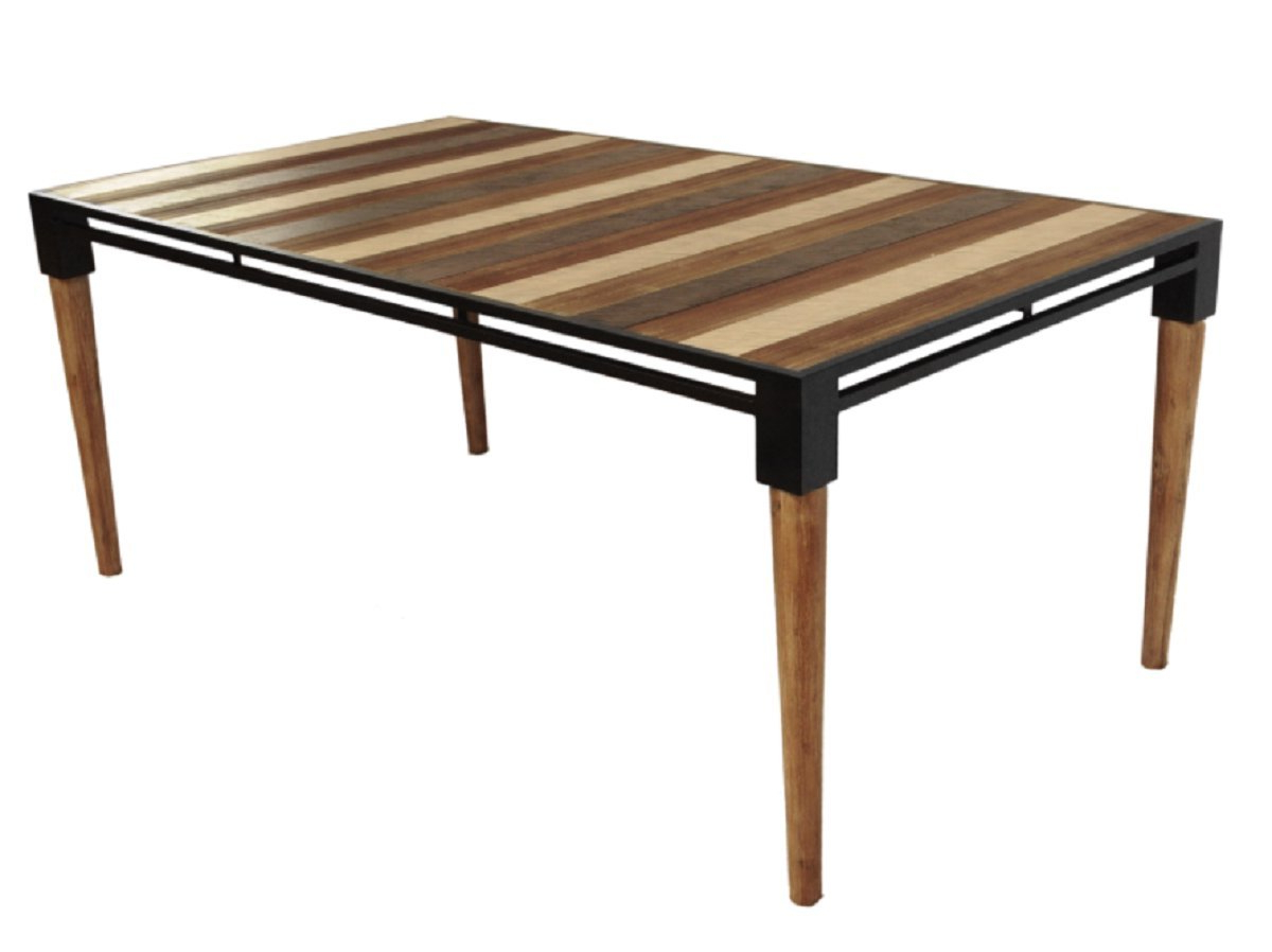Acacia Wood Medley Medium Dining Tables With Metal Base Inside Most Current Amazon – Cdi Furniture Td1282m The Medley Collection (View 2 of 30)