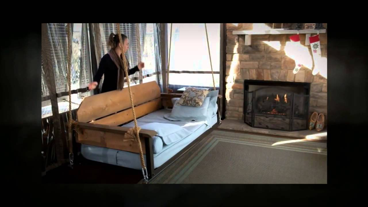 Adjustable Porch Furniturethe Porch Company – Swing Bed & Porch Swing Pertaining To Well Liked Hanging Daybed Rope Porch Swings (View 6 of 30)