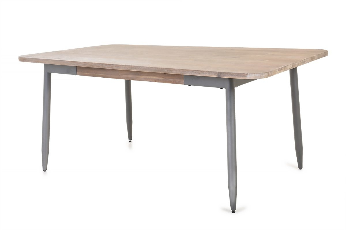 Alba Dining Table Within Famous Acacia Top Dining Tables With Metal Legs (View 23 of 30)