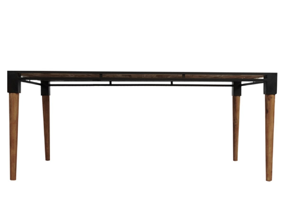 Amazon – Cdi Furniture Td1282m The Medley Collection Within Trendy Acacia Wood Medley Medium Dining Tables With Metal Base (View 3 of 30)