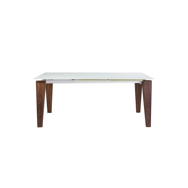 "Amazon – Euro Style 38879wht Kit Freya 111"" Extension With Regard To Preferred Extension Dining Tables (View 10 of 30)"