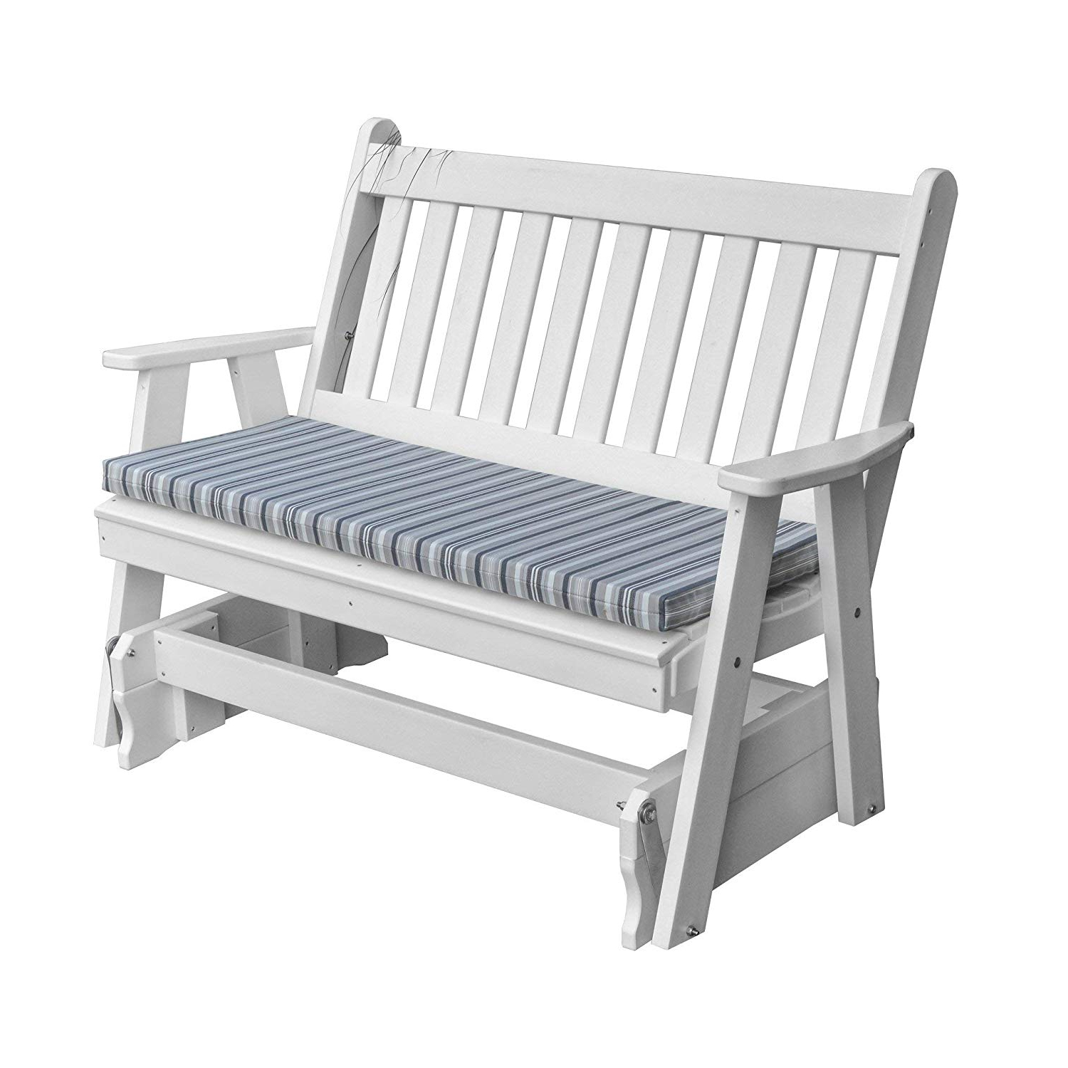 Amazon : Kunkle Holdings, Llc Outdoor 5 Foot Glider In With 2019 Traditional English Glider Benches (View 7 of 34)