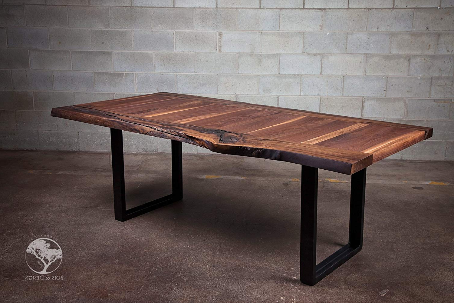 Amazon: Live Edge Black Walnut Dining Table La Within Well Liked Dining Tables With Stained Ash Walnut (View 4 of 30)