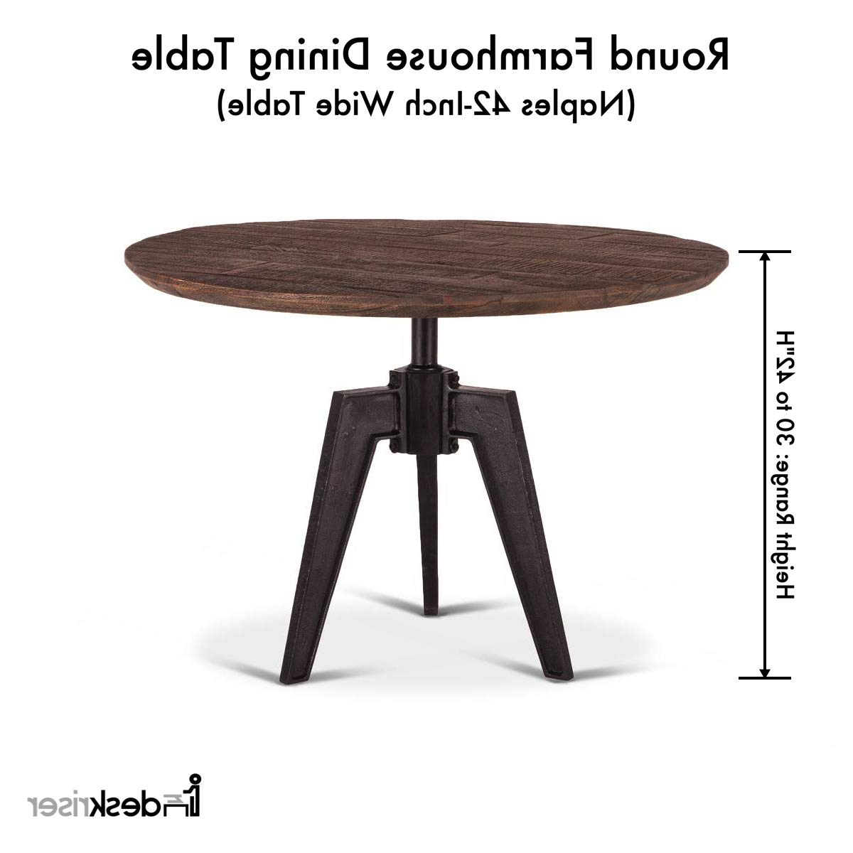 Amazon – Round Farmhouse Dining Table (View 20 of 30)