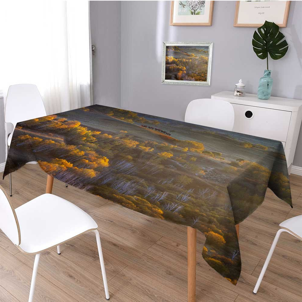 Amazon: Scocici1588 Linen Square Tablecloth Cixin Qiu With Regard To Preferred Dom Square Dining Tables (View 13 of 30)