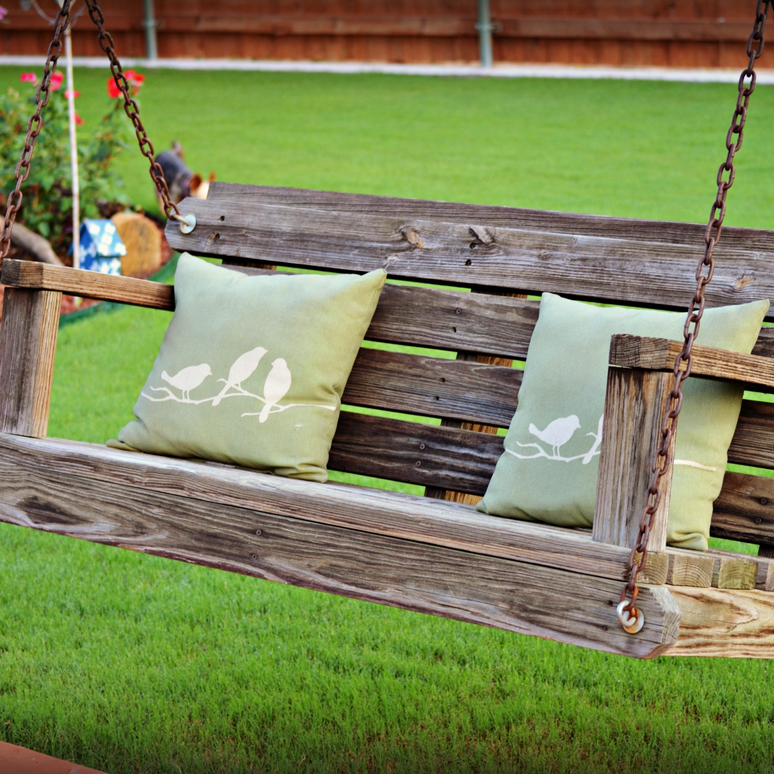 American Flag Porch Swings For Preferred Five Minute Friday {Exhale} (View 8 of 30)