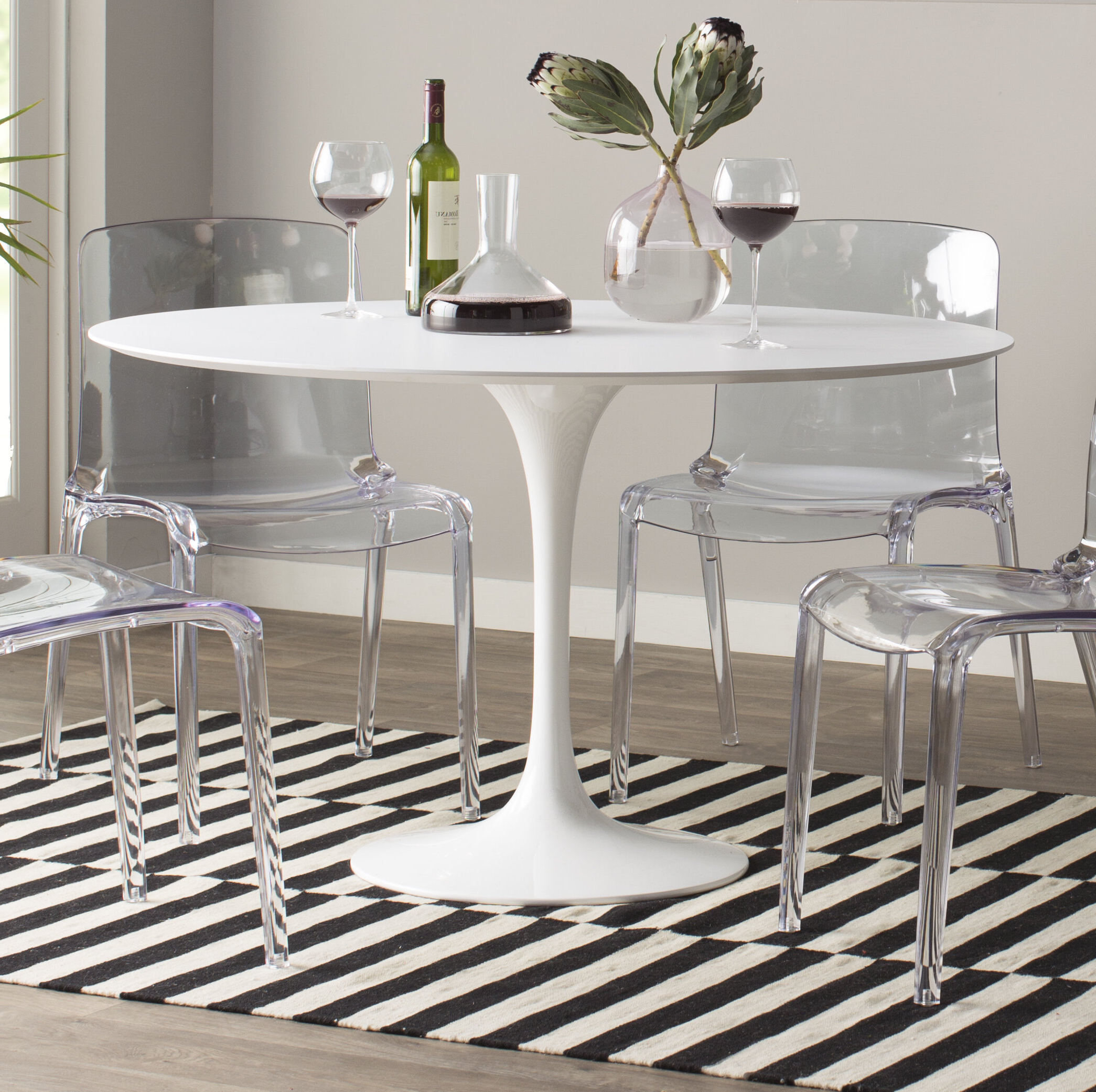 Angelica Matte Lacquer Dining Table & Reviews (View 24 of 30)