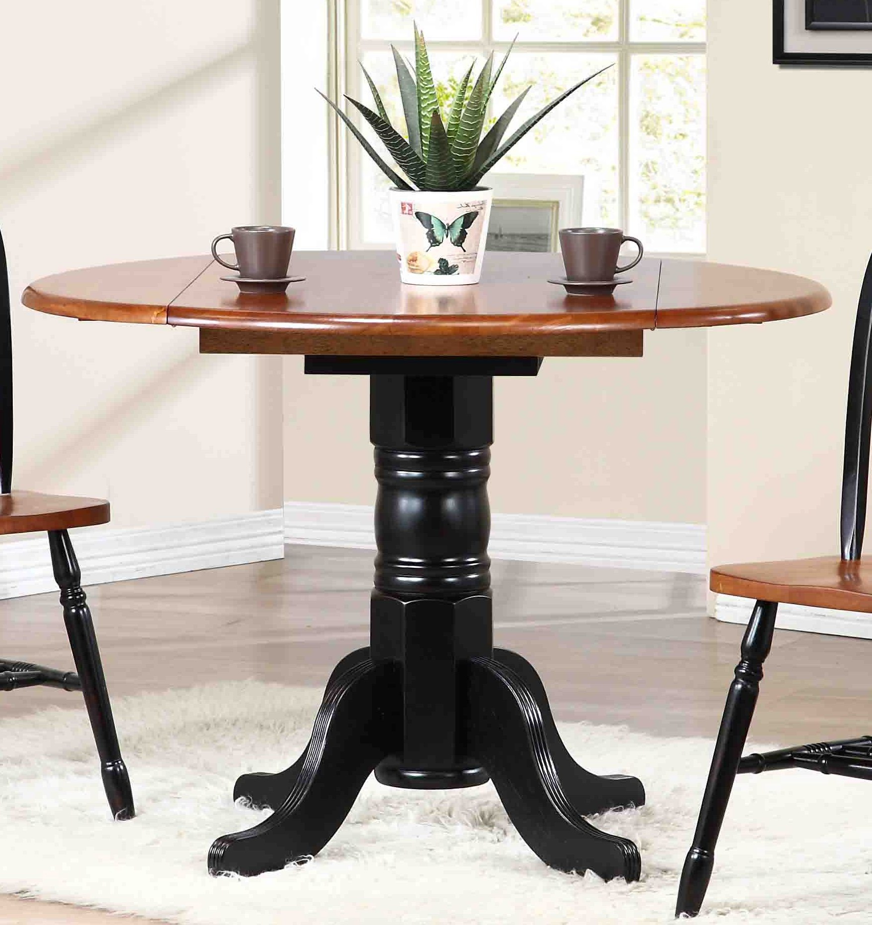 Antique Inside Transitional Drop Leaf Casual Dining Tables (View 5 of 30)