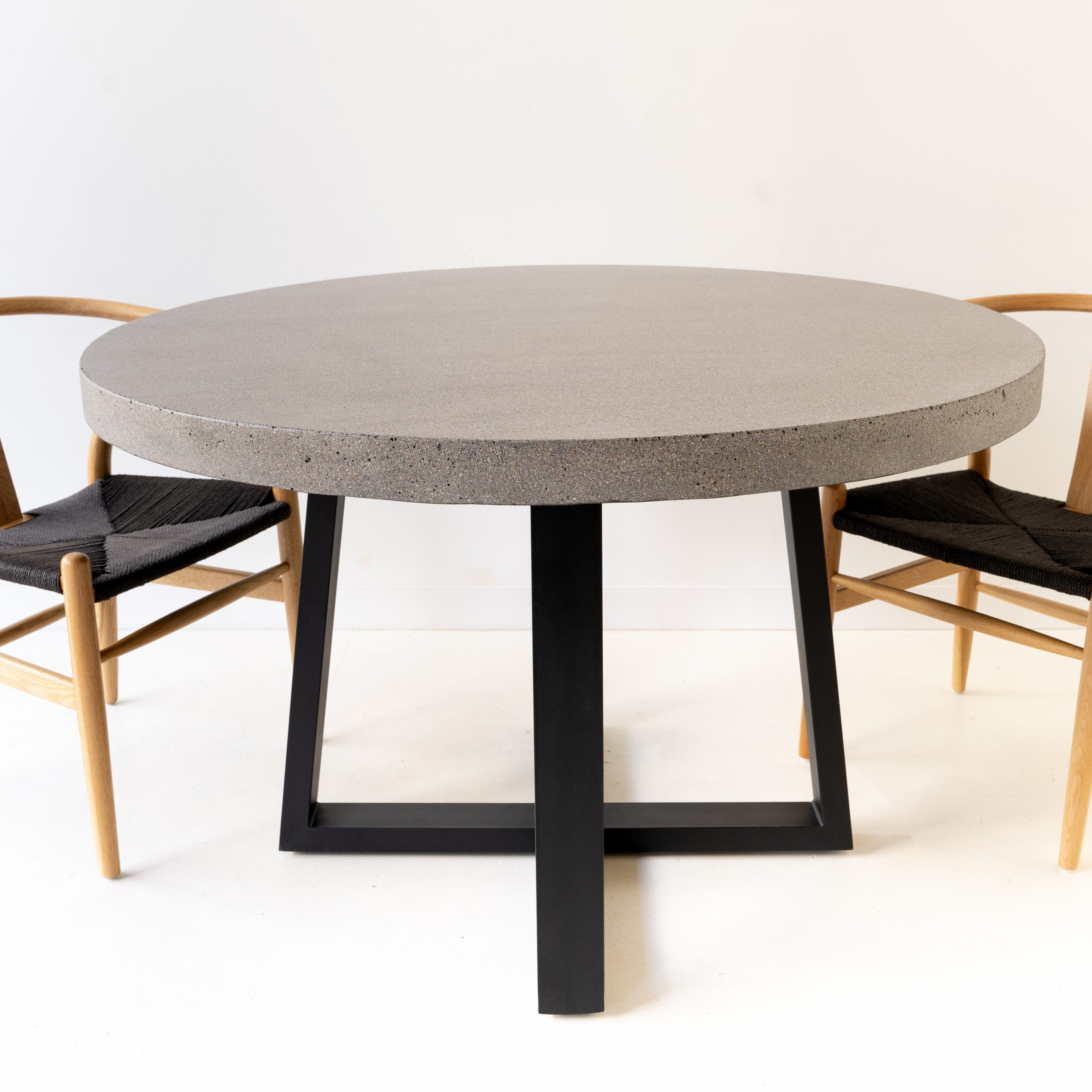 Antwerp Round Elkstone Dining Table –  (View 3 of 30)