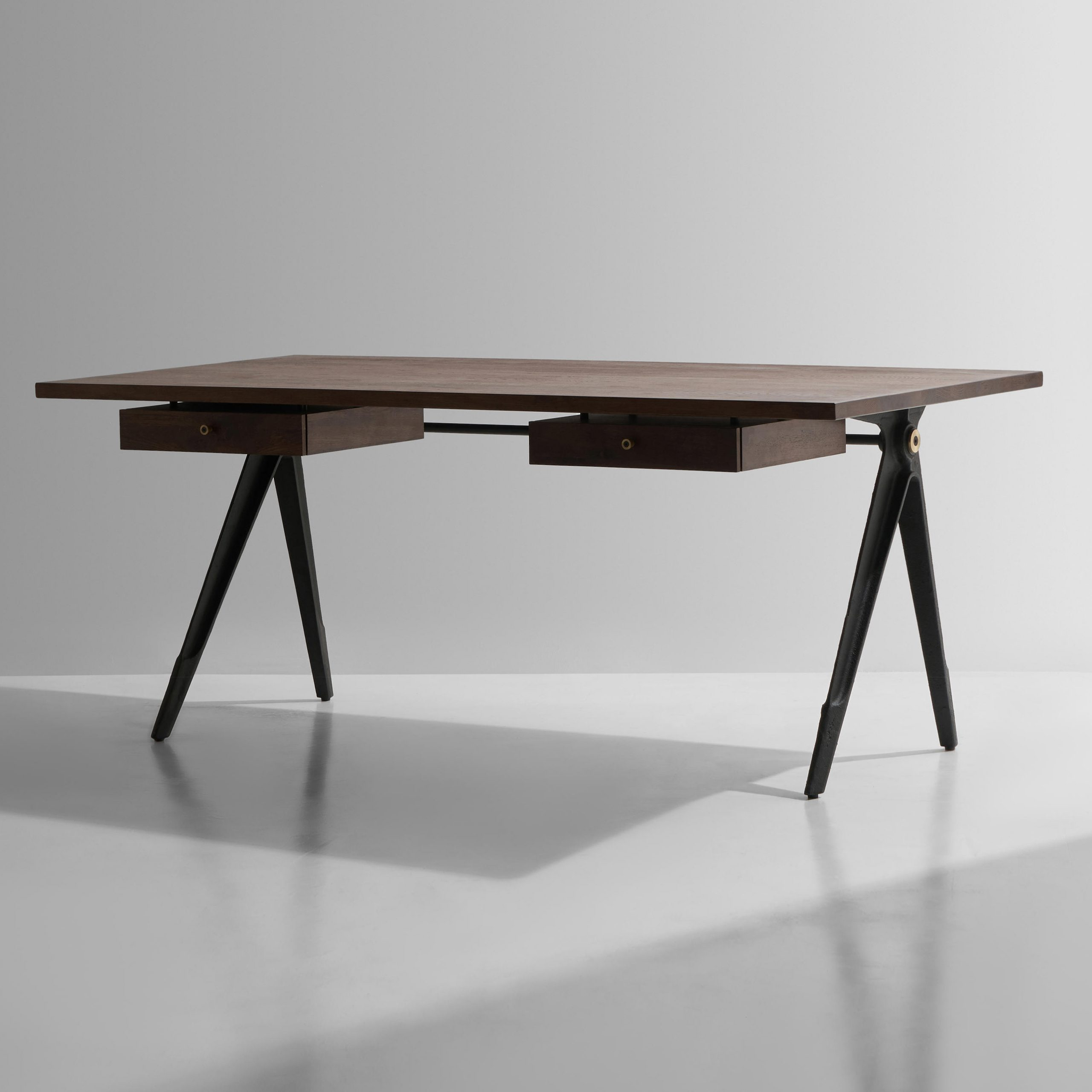 Architonic Throughout Trendy Dining Tables In Smoked Seared Oak (View 10 of 30)