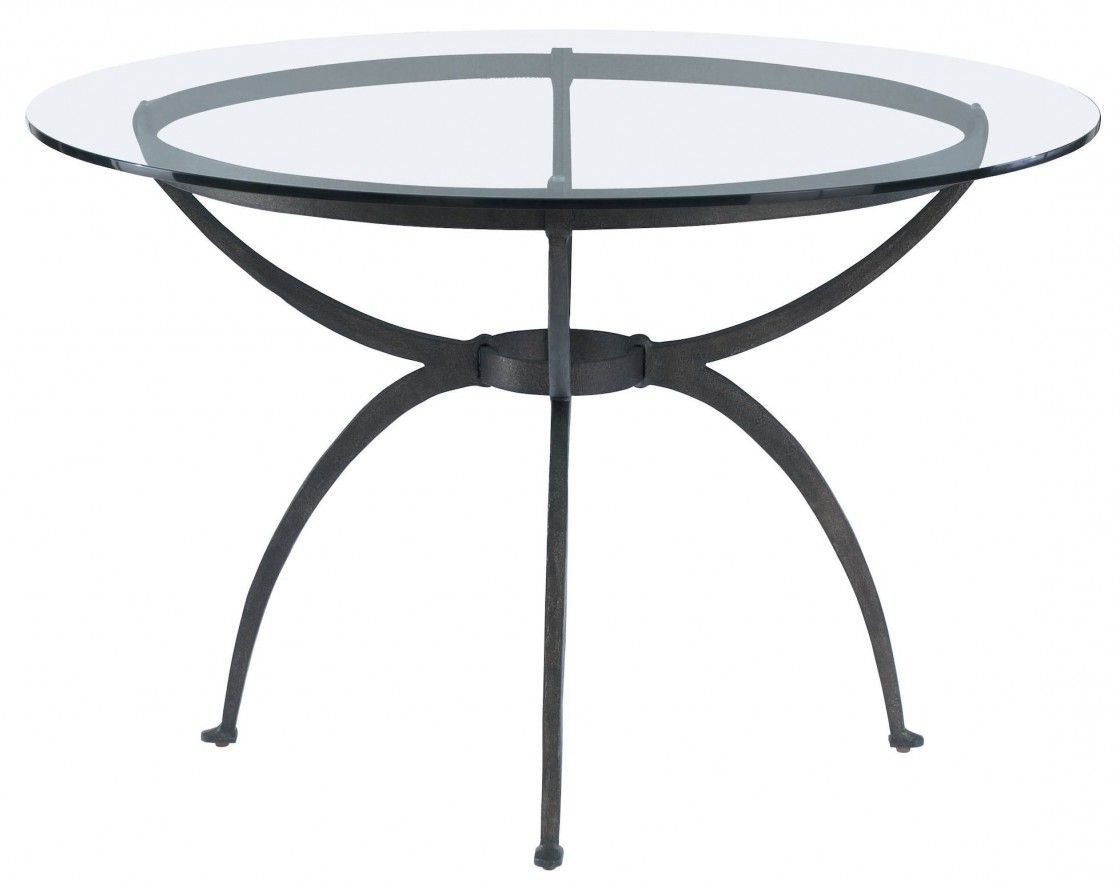 Astonishing Extendable Round Glass Dining Table With Black With Newest Glass Dining Tables With Metal Legs (View 5 of 30)