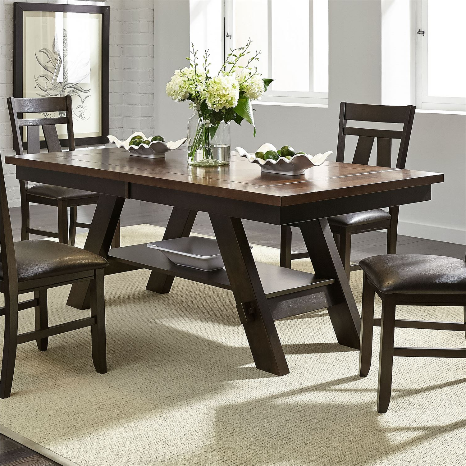 Atwood Transitional Rectangular Dining Tables With Recent Liberty (View 12 of 30)