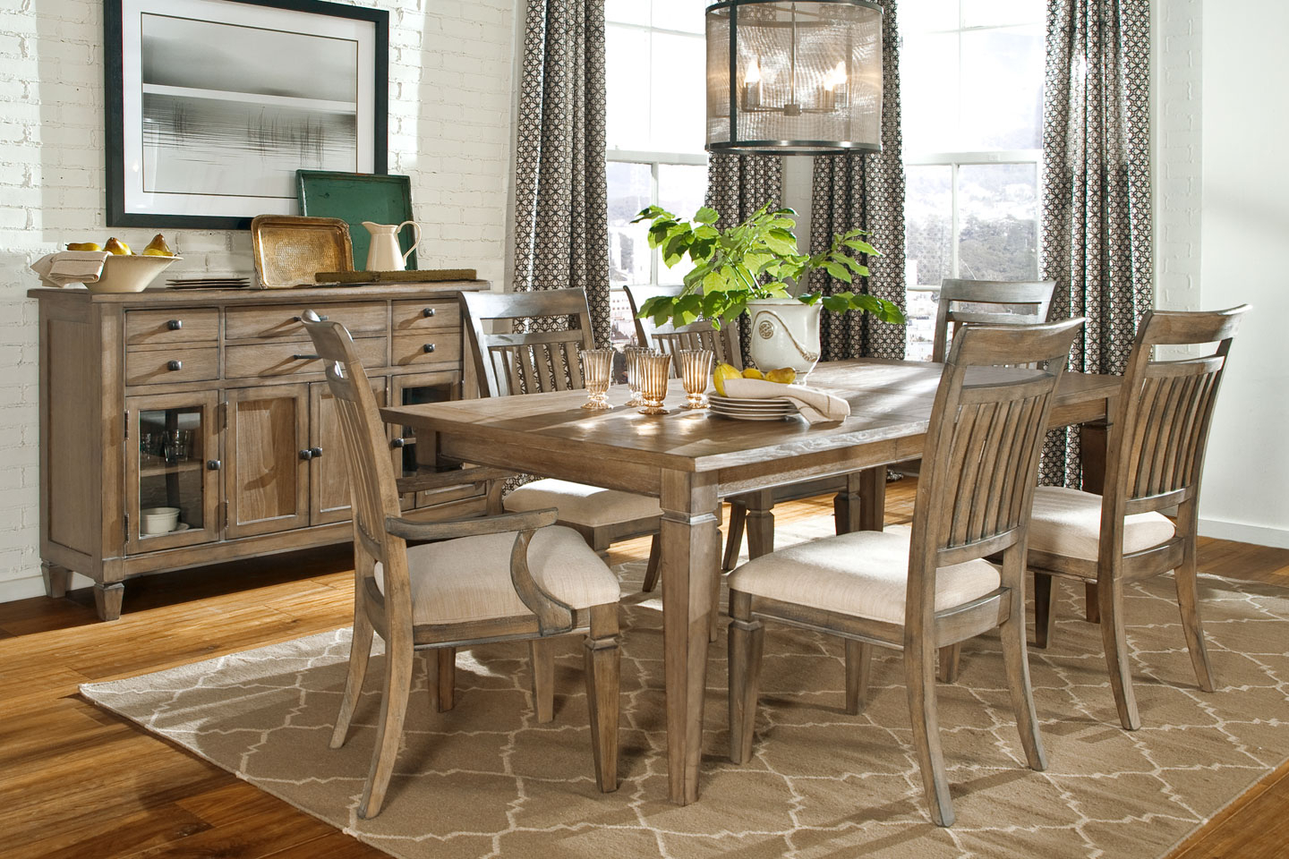 Beautiful Rustic Kitchen Tables To Inspire You — Office Pdx Inside Most Current Large Rustic Look Dining Tables (View 15 of 30)