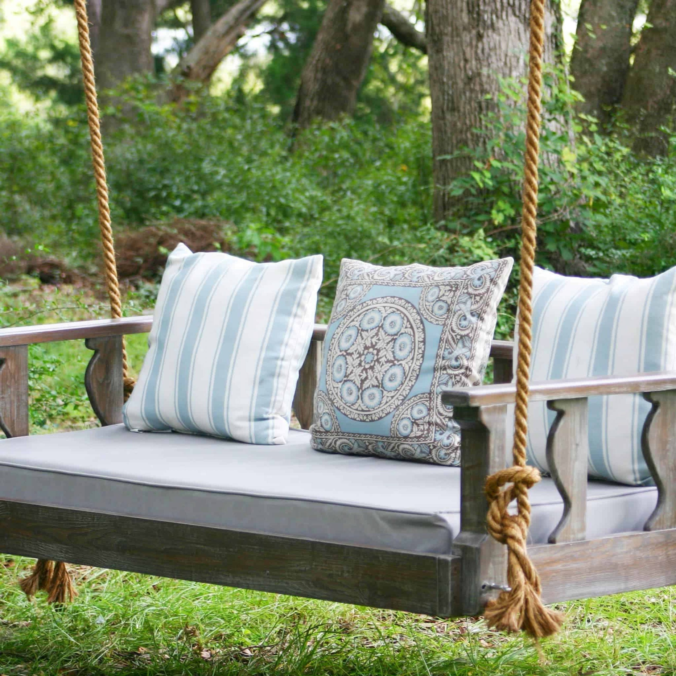 Bed Swings And Porch Swings, Handmadevintage Porch Swings With Trendy Plain Porch Swings (Gallery 9 of 30)