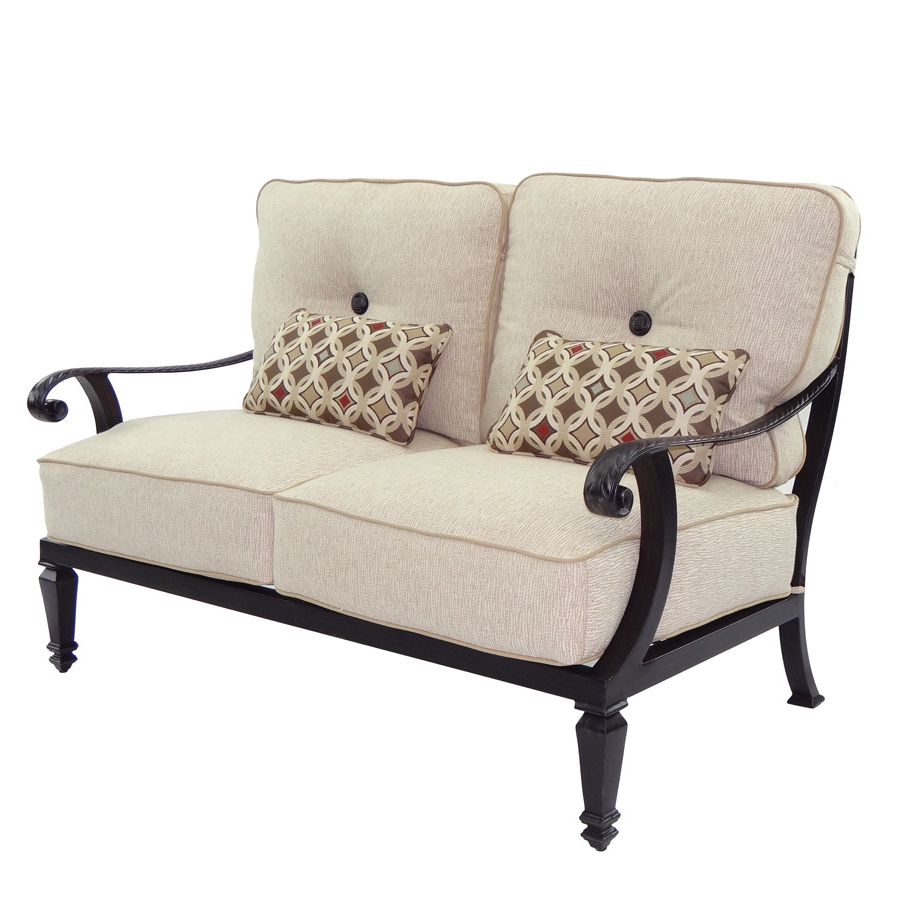 Bellagio Cushioned Loveseat (Gallery 24 of 30)